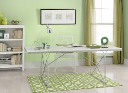 green home office. soft venetian green office home s