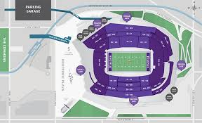 Stadium Maps U S Bank Stadium