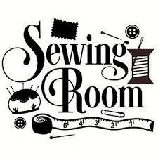 sewing room wall art vinyl decal