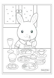 Forest Animal Coloring Page Coloring Forest Animals Coloring Pages Animal Baby Wild Enchanted