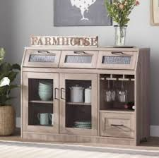 dining room sideboard. Image Is Loading Farmhouse-Buffet-Mini-Bar-Table-Sideboard-Server-Cabinet- Dining Room Sideboard