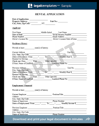 Renters Application Template Rental Application Form Create A Free Lease Application Form
