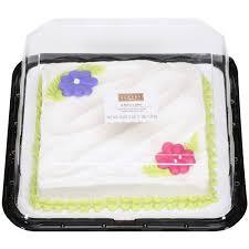 half sheet cake price walmart the bakery at walmart white cake with buttercreme icing 43 oz
