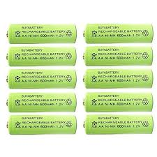 pack of 10 abattery branded aa