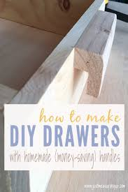 build basic pull out drawers with this easy tutorial