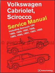 1985 1993 vw cabriolet and scirocco bentley repair shop manual Volkswagen Cabriolet Convertible at Wiring Diagram 1987 Volkswagon Cabriolet