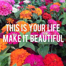 Make Your Life Beautiful Quotes