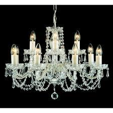 babice bohemian 12 light crystal chandelier cb125294 12