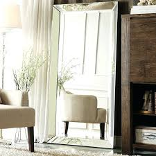 oversized floor mirror. Decorative Floor Mirror Mirrors Oversized Glass Frame Of A Leaning R