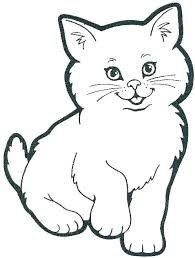 Realistic Cat Coloring Pages Printable Coloring For Babies Amvame