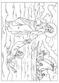 Kleurplaat Petrus Verliest Zijn Geloof Afb 25920 Images