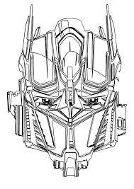 Kleurplaat Transformers