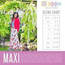 Lularoe Maxi Size Chart Lularoe Amber Defeo