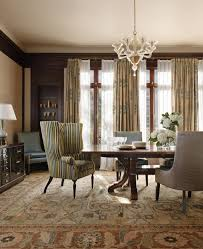sheer curtain ideas dining room traditional with area rug with regard to traditional area rugs for