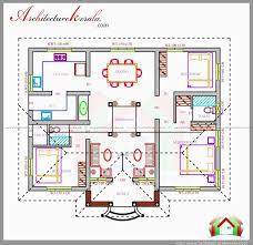 kerala style 3 bedroom single floor house plans beautiful three bedrooms in 1200 square feet kerala