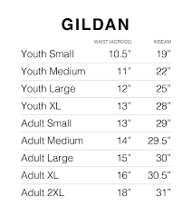 Gildan Youth Size Chart Founders Sweatpants Side Hustle Threads