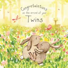 New Baby Congratulation Cards Baby Twins New Baby Congratulations Card New Baby Card