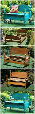 Bench Out Of Headboard Best 25 Headboard Benches Ideas On Pinterest Benches From