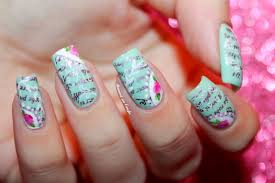 gel nail designs for summer