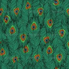 Peacock Pattern Custom Peacock's Feathers Pattern By Zhukalyona GraphicRiver