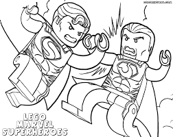 Small Picture Lego Marvel Superheroes Coloring Pages Lego Marvel Superheroes