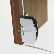 glass cabinet door hinges. new 4pcs cabinet glass door hinges wine/cupboard clamp hinge no drilling 6