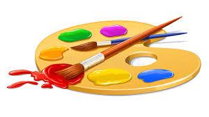 """Résultat de recherche d'images pour """"image de palette de peinture"""""""