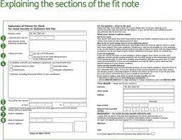 Self Cert Doctors Note Self Certification For Statutory Sick Pay Ssp