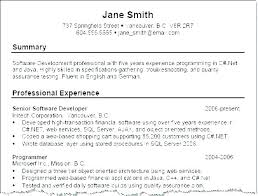 A Summary For A Resumes Resume Summary Of Qualifications Samples Joefitnessstore Com