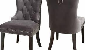 grey velvet chair. Perfect Velvet Meridian Furniture Nikki Modern Plush Grey Velvet Dining Chairs Set Of 4 In Chair B