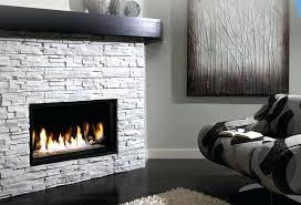 modern ventless gas fireplace contemporary gas fireplace insert