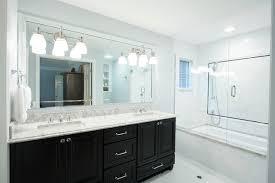 white bathroom cabinets with dark countertops. Sophisticated Impressive White Bathroom Cabinets With Dark Countertops Double At Countertop For The B