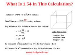 Concrete Calculation Chart How To Calculate Quantities Of Materials For Different Mix