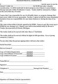 Commercial trailer rental agreement free download and preview, download free printable template samples in pdf, word and excel formats. Pin On Templates Forms