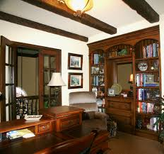classic office interiors. Tidy Oak Bookshelves And Drawers In Elegant Home Office With From Classic Decor Interiors S