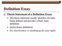 thesis statement for success definition essay planning writing thesis statement for success definition essay