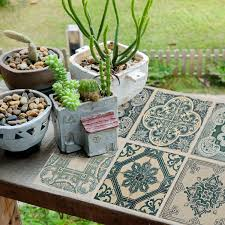 wm5112x4 green tiles pack of 4 sheets