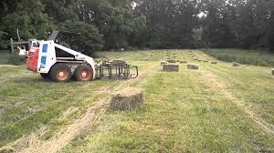 home made hay grapple