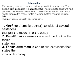 every essay has a beginning a middle and an end in a five  every essay has three parts a beginning a middle and an end