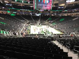 Fiserv Forum Seating Chart View Fiserv Forum View From Lower Level 113 Vivid Seats