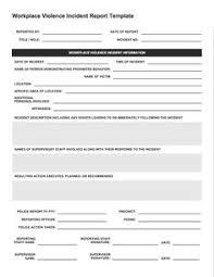 Incident Report Template Free Incident Report Templates Smartsheet