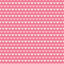 cute seamless valentine s day background with pink and white hearts vector image vector artwork of to zoom