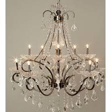 penelope 10 light chandelier black antique