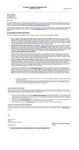 Sba 8 A Sdb Certification Letter