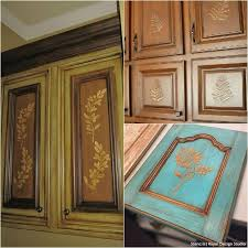 image stencils furniture painting. 20 diy cabinet door makeovers and painting ideas with furniture stencils from royal design studio image