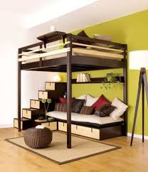 Awesome Queen Size Loft Bed With Desk M63 For Interior Design Ideas For  Home Design with