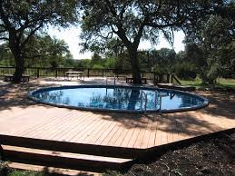 10 (More) Awesome Above Ground Pool Deck Designs - wood decks around  aboveground pools, design plans and ideas for pool decks