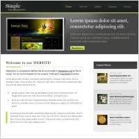Free Simple Template Free Website Templates For Free