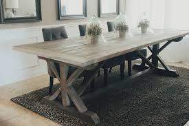 wood farm dining table dining room astounding farm style dining room tables diy