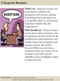 8 how to write an effective objective for a resume